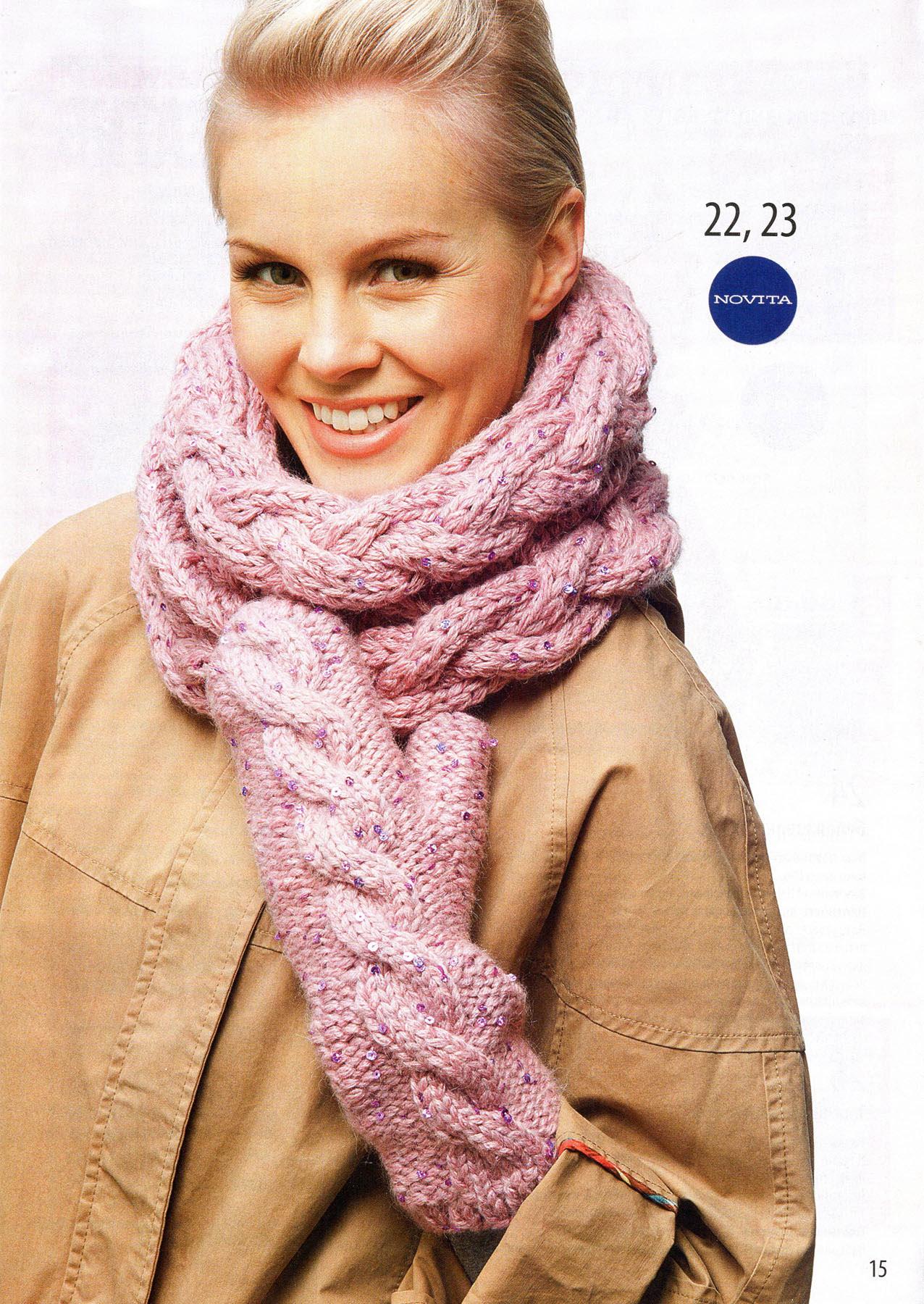 Снуд спицами для женщин: схемы вязания, новинки, узоры, размеры 49