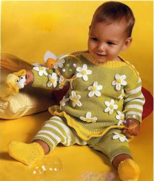 Детский комплект Ромашки