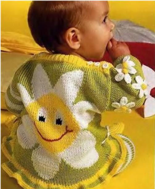 Детский комплект Ромашки.