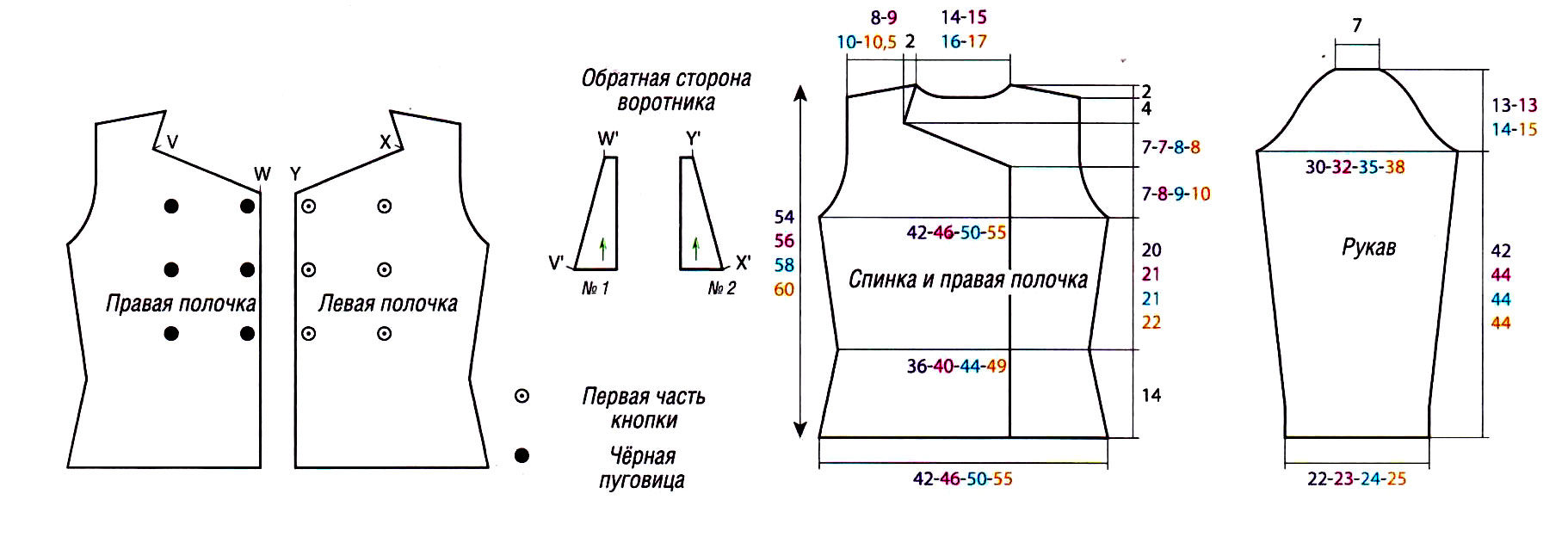 belyy_zhaket_s_polosatym_vorotnikom-scheme-spicami-vyazanie_spicami_-_kofty_shemy_modeley[1]