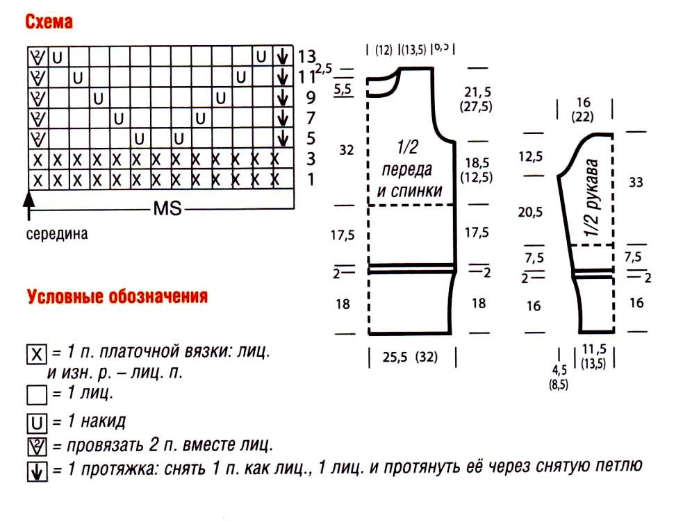 udlinennyy_pulover_s_vorotnikom_i_azhurnym_uzorom-scheme-spicami-vyazanie_spicami_-_kofty_shemy_modeley[1]