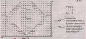 схемы узоров